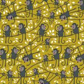 Monkey tree ocre (small)