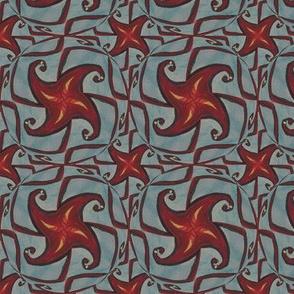 Firebird Fiery Pinwheels