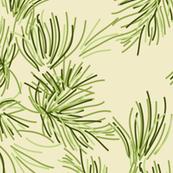 Cream Pine Needle