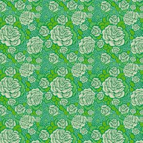 Rose Remix - leafy