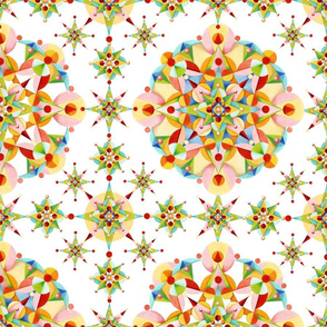 Carousel Confetti Starburst