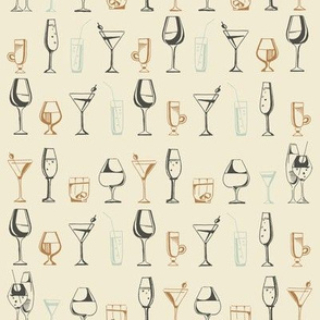 Mix Cocktails pattern
