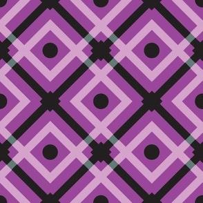 plaid purple big
