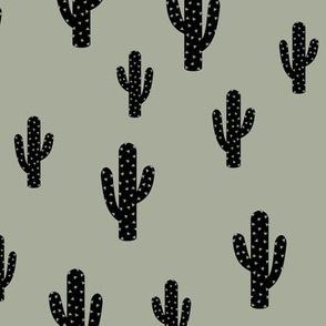 Cactus Green - Gray