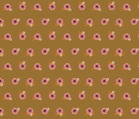Flowery Tan