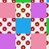 Pretty Maids Polka Dot Cheater Quilt
