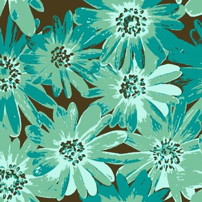 surf teal anenomes
