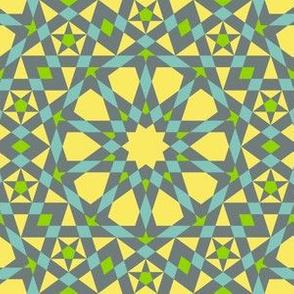 decagon star : parroting a mosaic