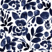 NavyFloral_pattern