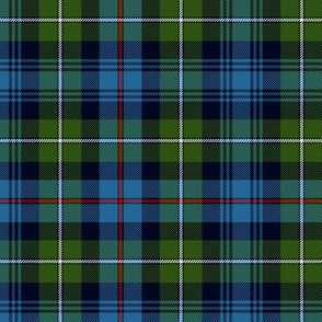 Mackenzie / Seaforth Highlander tartan, ancient colors