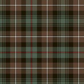 Mackenzie tartan, weathered