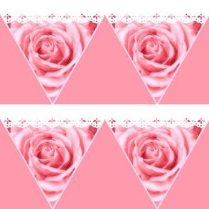 Roses Romance Mini Bunting