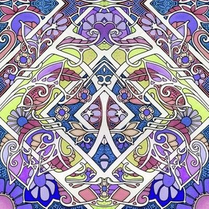 Purple Garden Patches
