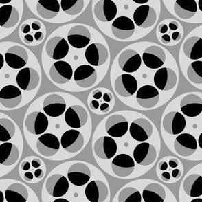 film reels S43 : grey