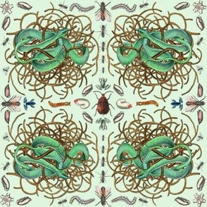 Snakes and Insects Plaid