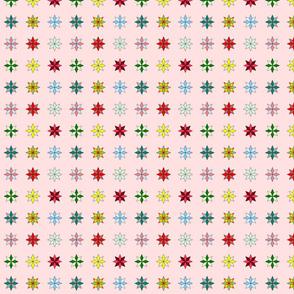 Mini Stars on pink
