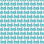 Cat Mask Aqua