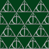 Green & Silver House Hallows