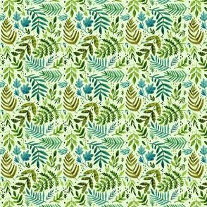 Unfurling Ferns