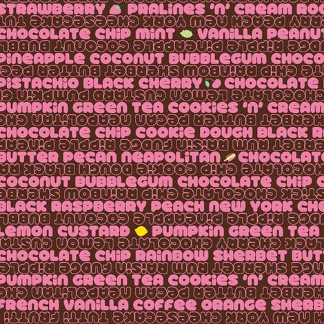 32 Flavors (Fudge Strawberry)