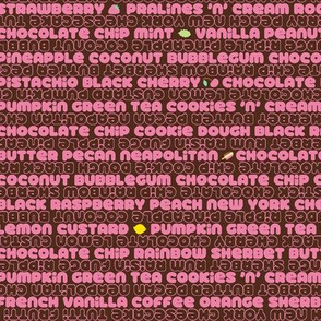 32 Flavors (Fudge Strawberry)
