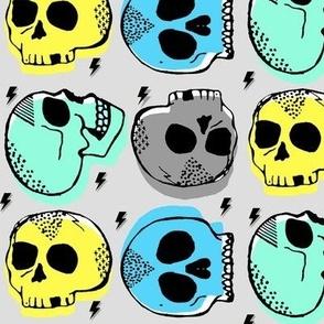 Tossed Skulls in Ocean