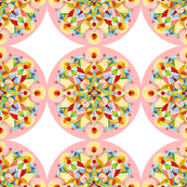 Pink Carousel Polka Dots