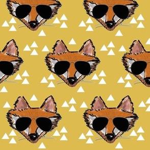 Cool Fox on Mustard