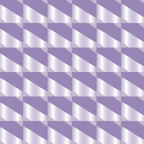 Purple Squares and Stripes Geometric