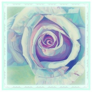 Heavenly Rose Quilting Cushion