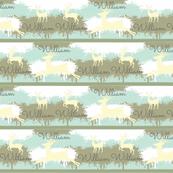 Camo Deer-stripes 3 Personalized -ocean William