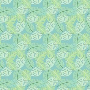 Jungle Foliage - Mint