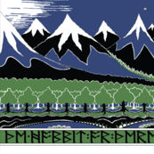 "The Hobbit 18x54"" Panel"