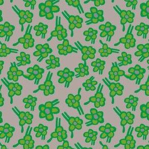 green scene florals!