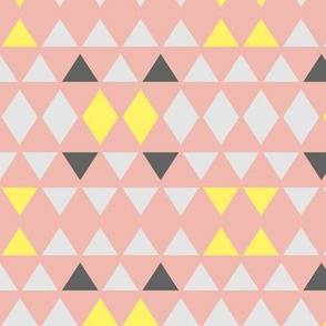 Pretty Pastel Triangles