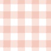 Small Blush Pink Buffalo Check Gingham
