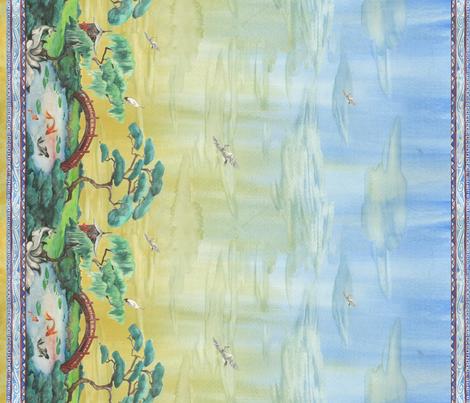 In the Garden of the Kitsune