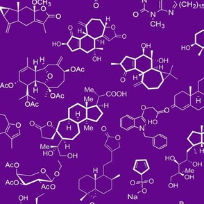 Molecules - Purple - Small