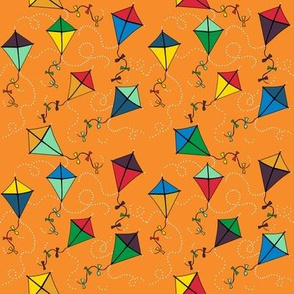 kites blustery day in yam: dream kangaroo