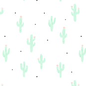 Little cactus with dots