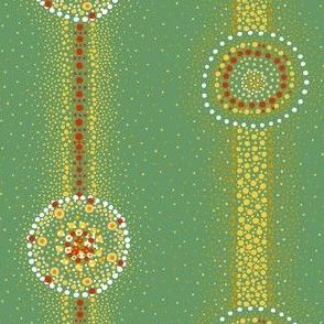 Rustic Flower: DotStripe-ExtraFancy