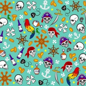Ditsy Pirates
