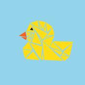 tanagram-ducky
