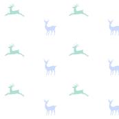 Deer - blue mist
