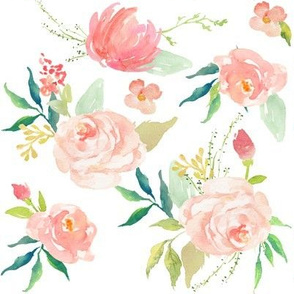 Pink Ice Florals