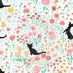 Lucky Garden Cats