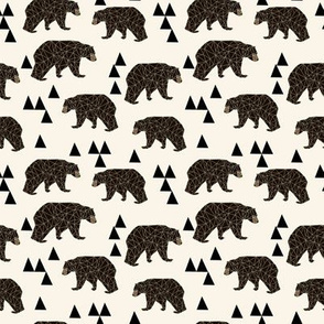 geo bear // small version kids geometric trendy triangle bear