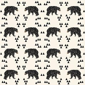 """geo bear // squares 4.5"""" square designs"""