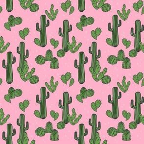 cactus // pink cactus cute cactus plants desert southwest cacti