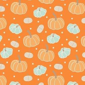 Pumpkin Ditsy